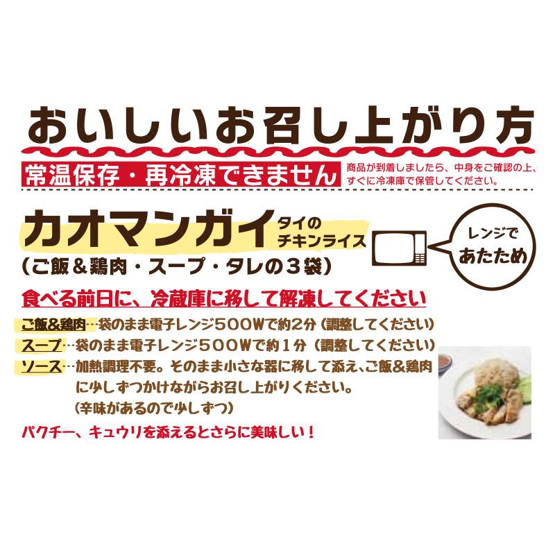 ティーヌン カオマンガイ 1食