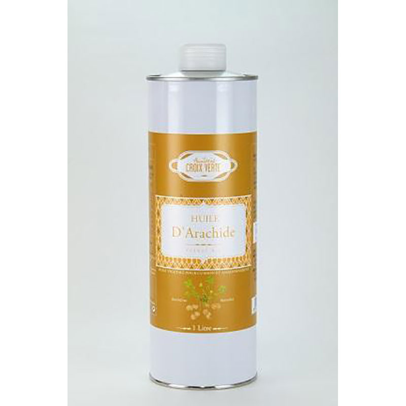 Huilurie CROIX VERTE ピーナッツオイル 920g缶