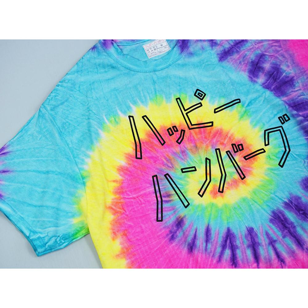 タイダイロゴTシャツ 【ハッピーレインボー】