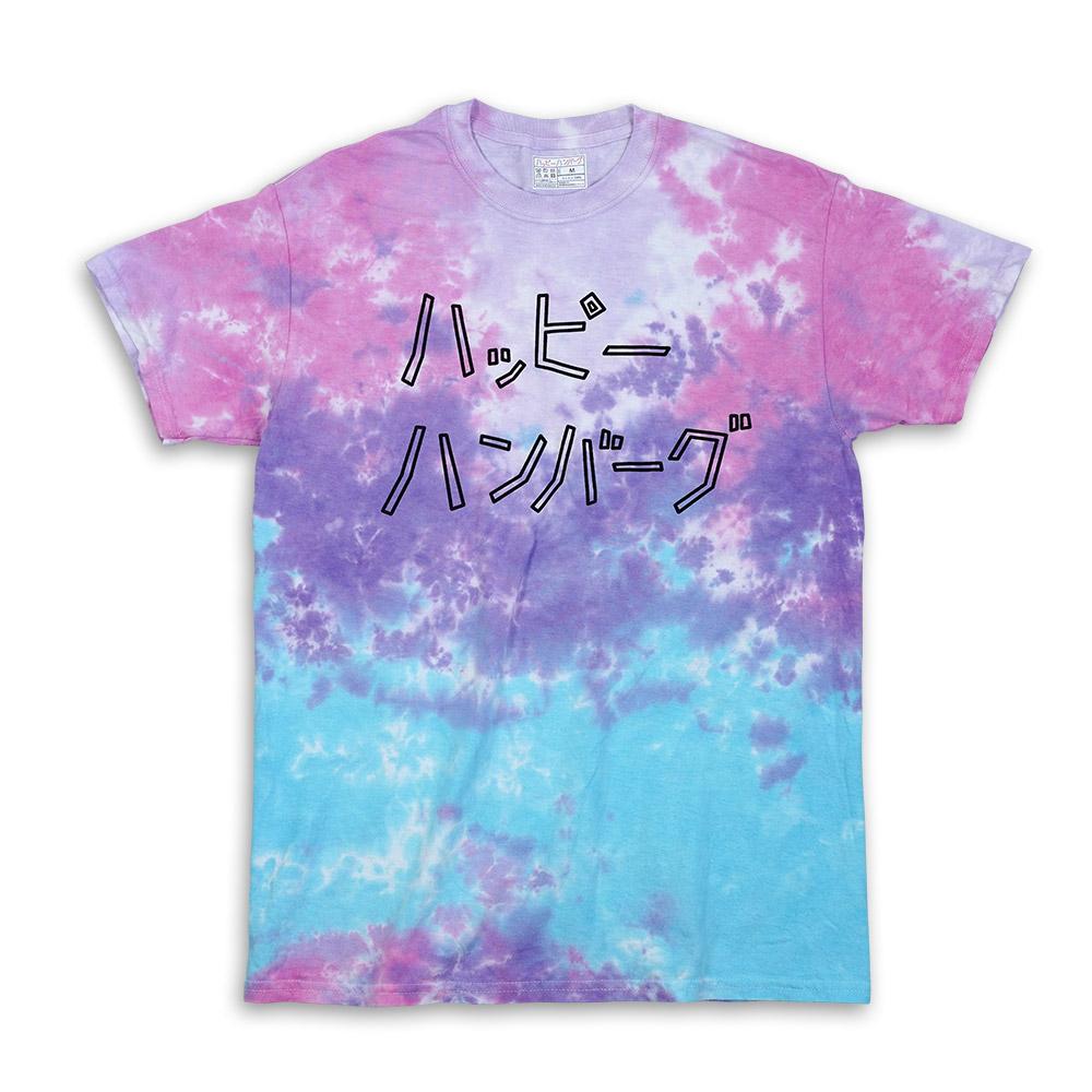 タイダイロゴTシャツ 【コットンキャンディ】
