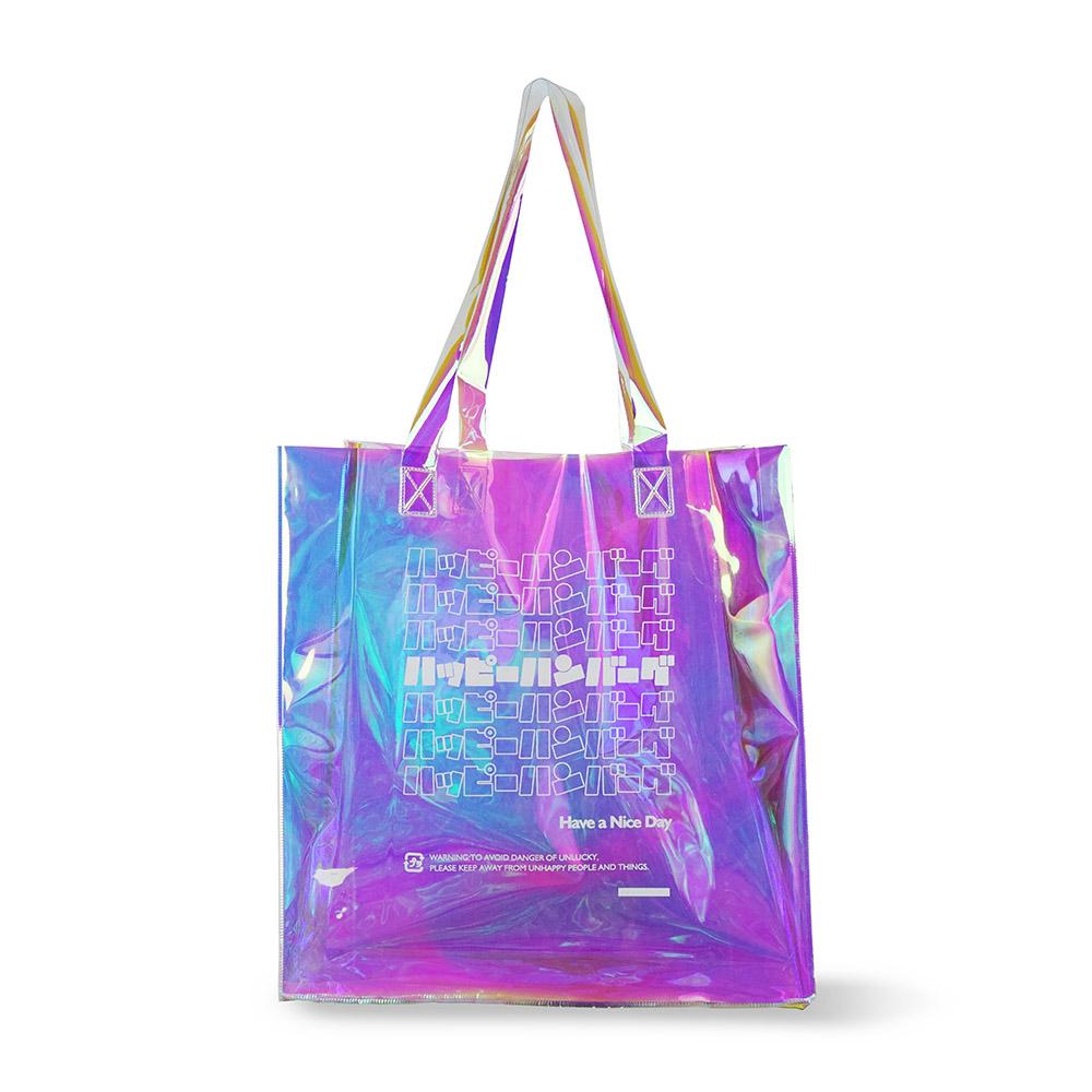 ハッピーハンバーグ ホログラムショッピングバッグ