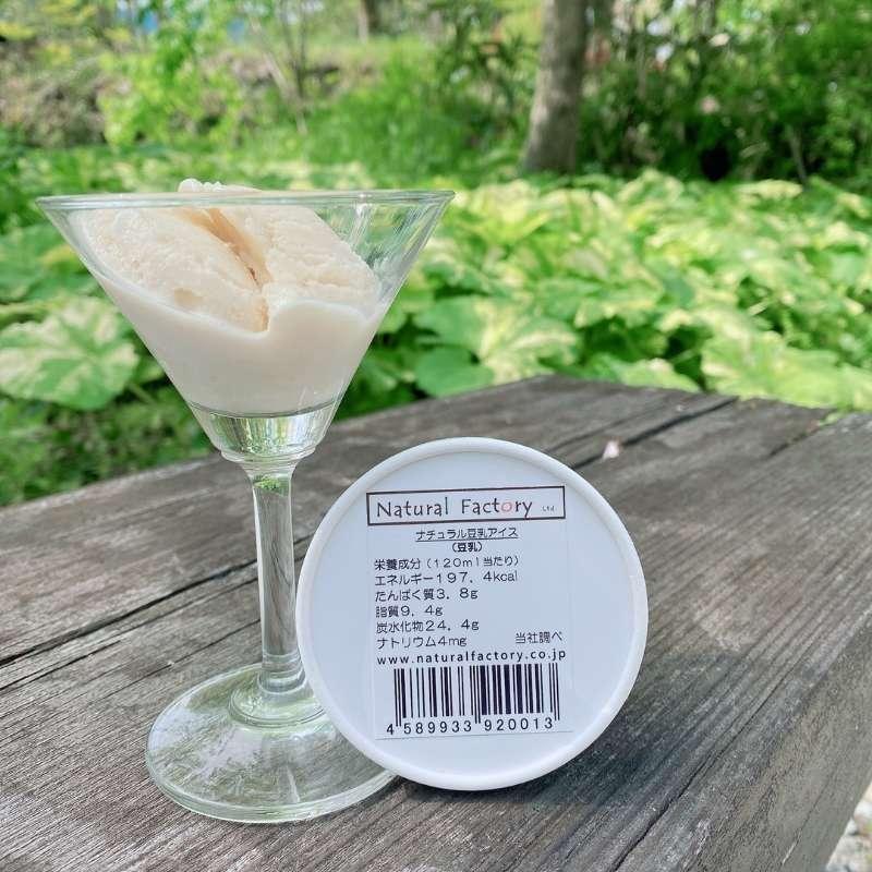 【豆乳】ナチュラル豆乳アイス 【通年】 【120mL】