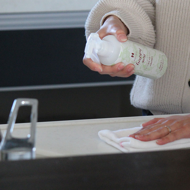 【除菌・洗浄・抗菌】 ハッピーソイアロマつめかえ