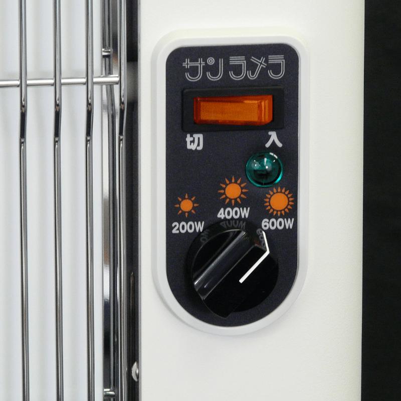 サンラメラ600型 遠赤外線ヒーター
