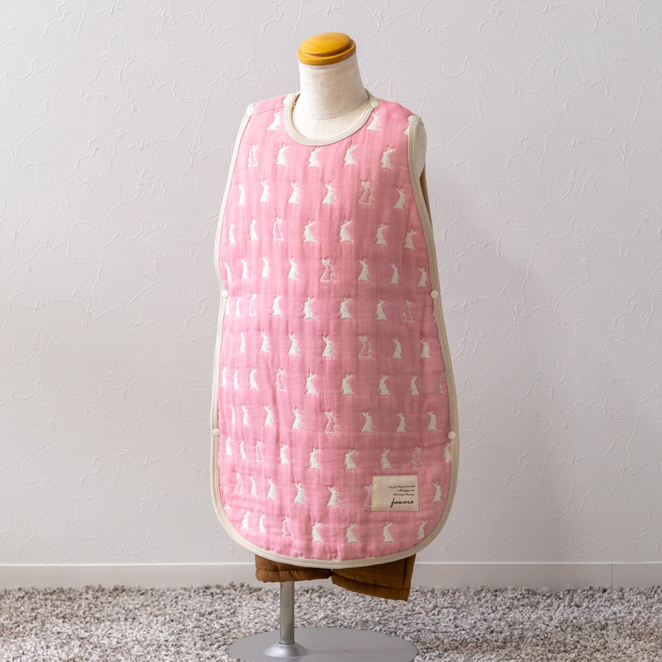 fuwara 日本製 6重織ガーゼ スリーパー