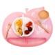 angelette りんご型 お食事シリコンマット アップルグリーン