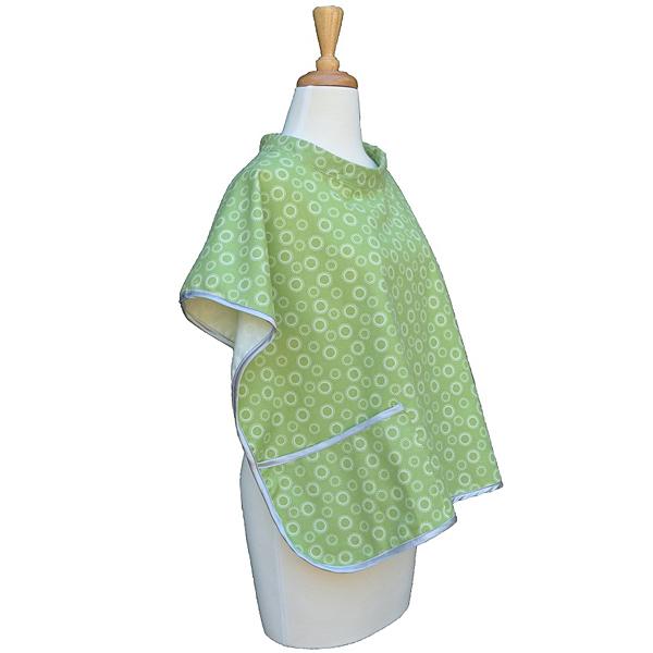 Babymoon 授乳ケープ ポケット付 バーペット ピスタチオグリーン