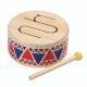 Plantoys 木のおもちゃ ソリッドドラム