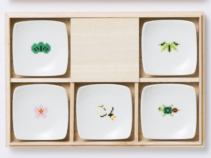めでたい 箸置小皿(5点セット)