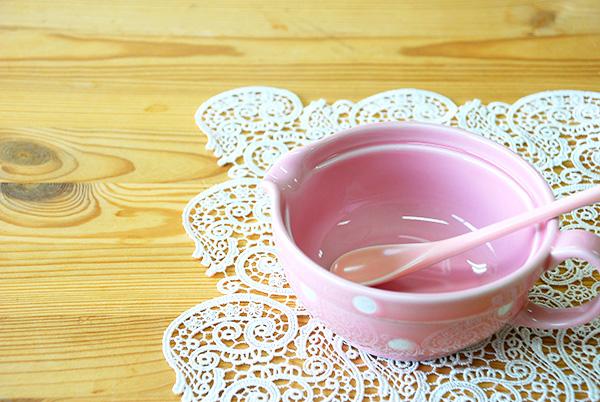 ベイビー皿セット さくら色【送料無料】