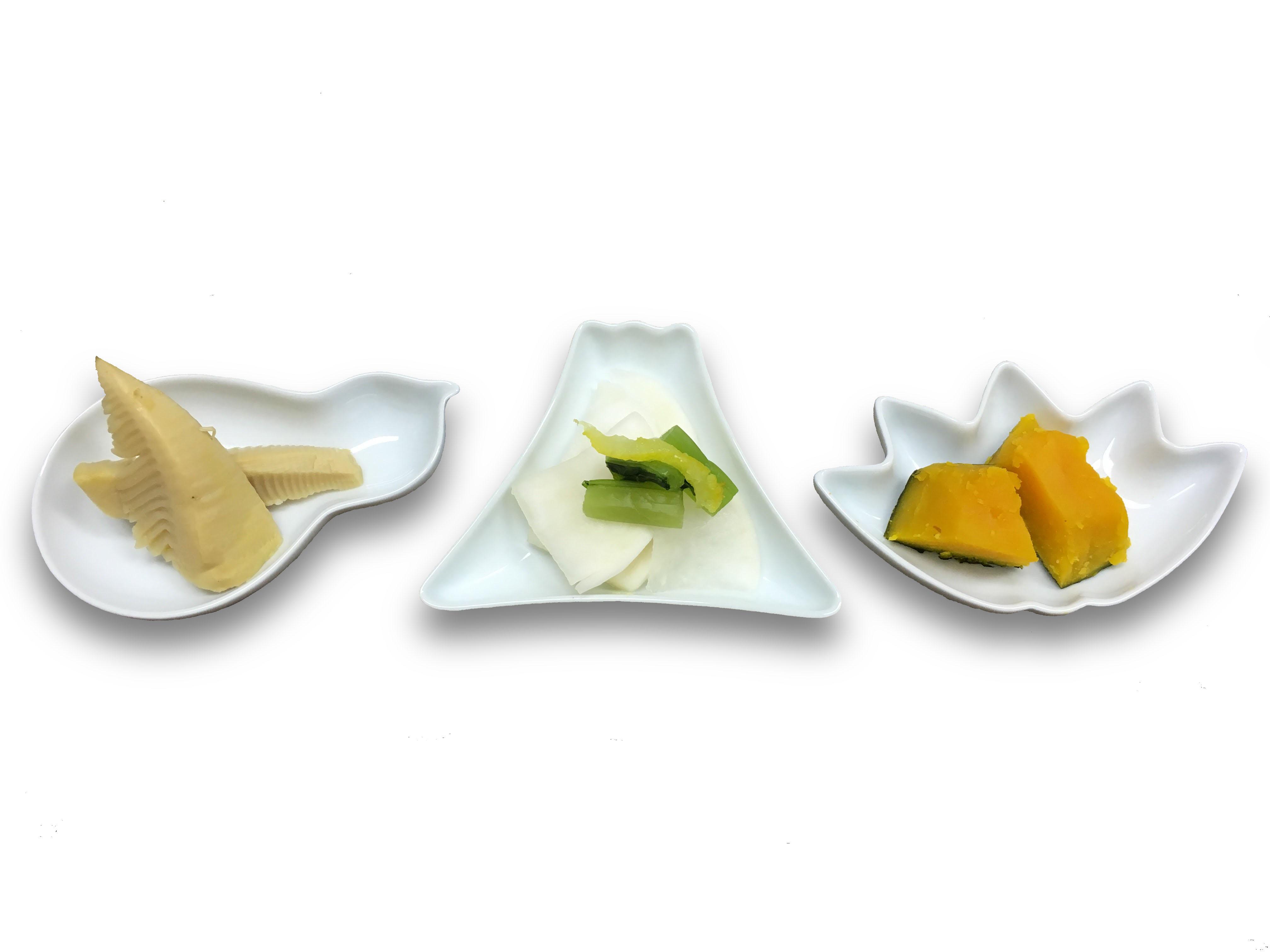 アッパレ 型変り豆皿(5点セット)