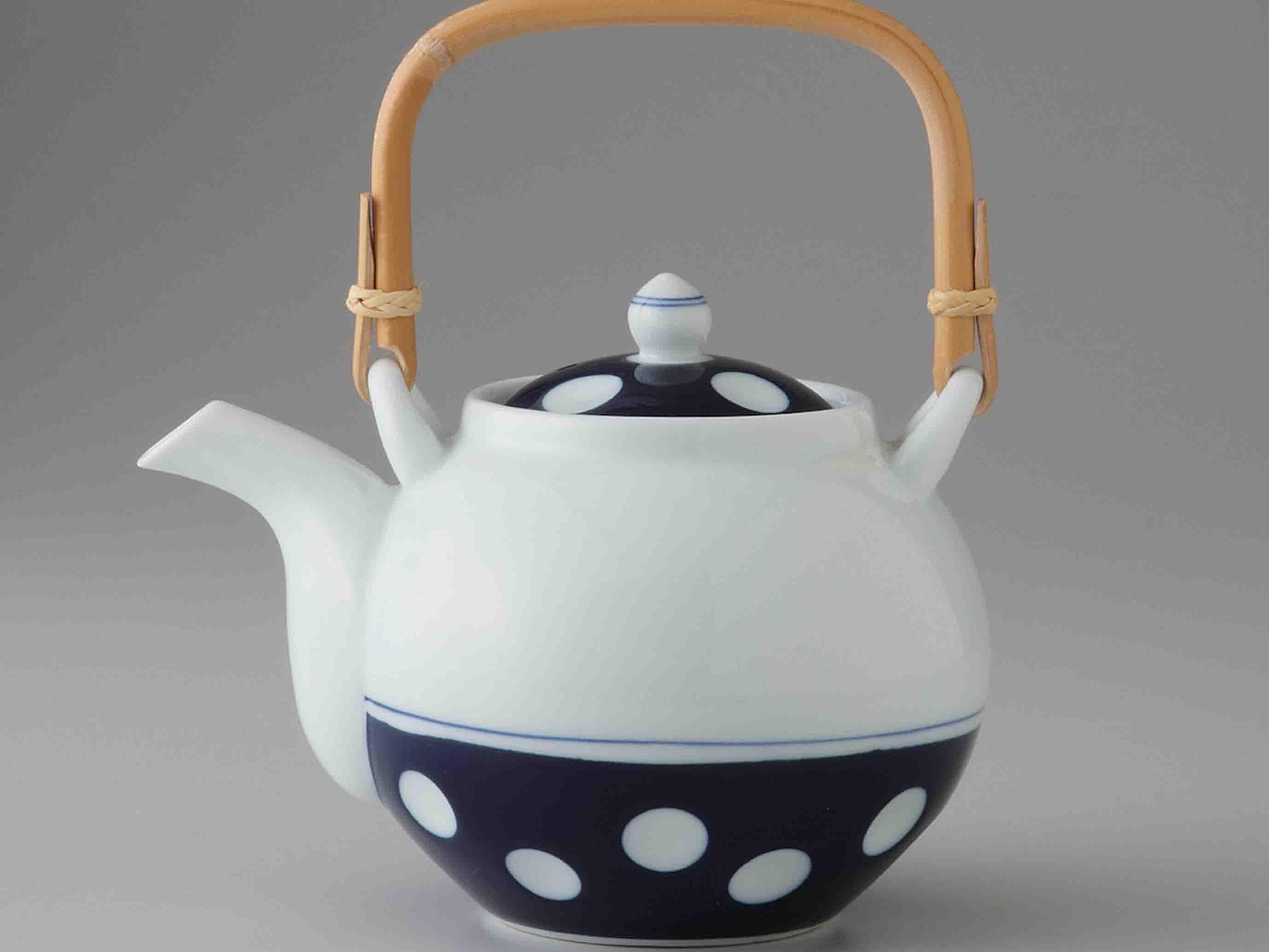 水玉 茶の間 ティーセット【送料無料】