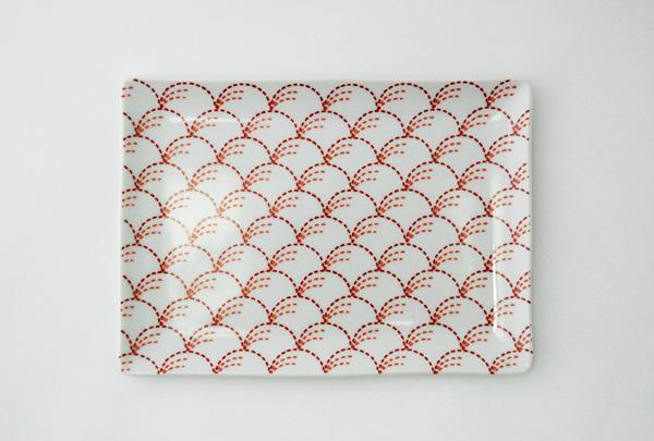 チクチクステッチ 銘々皿(3点セット)