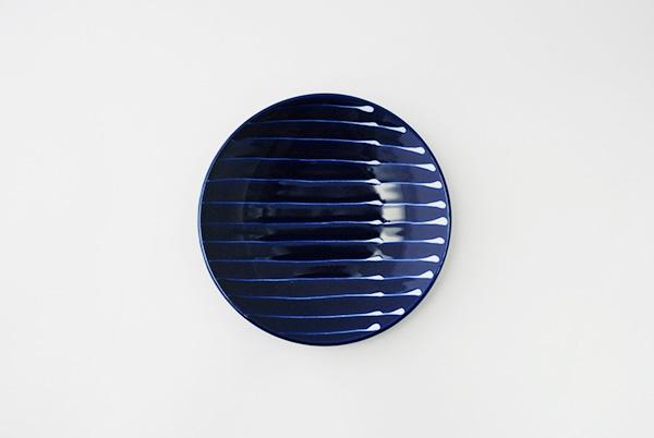 瑠璃紋様 小皿(4点セット)