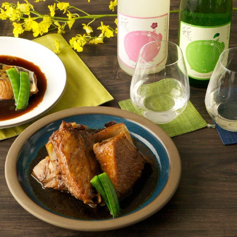 【日本料理店「きじま」特製惣菜】天然まぐろ カマ煮つけ 3個入 ★予約商品