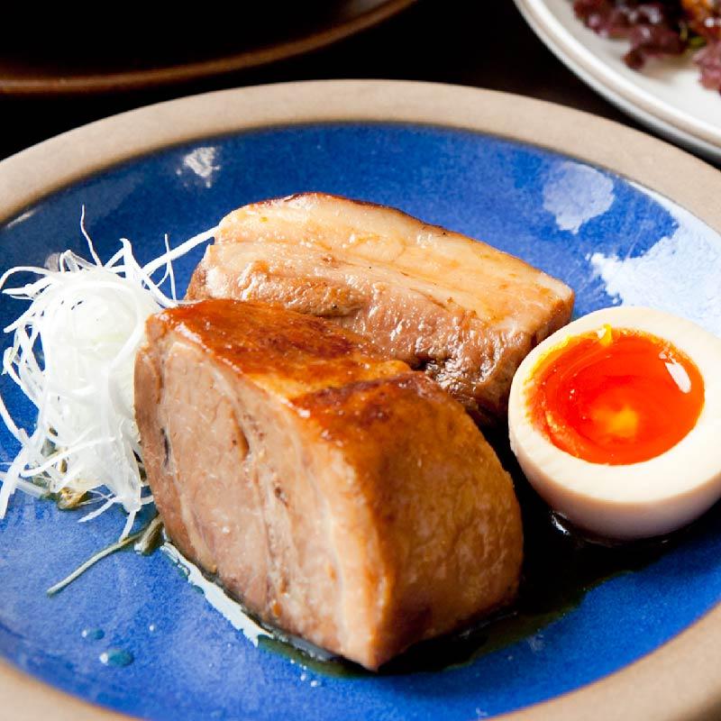 【日本料理店「きじま」特製惣菜】放牧豚 角煮 2個入