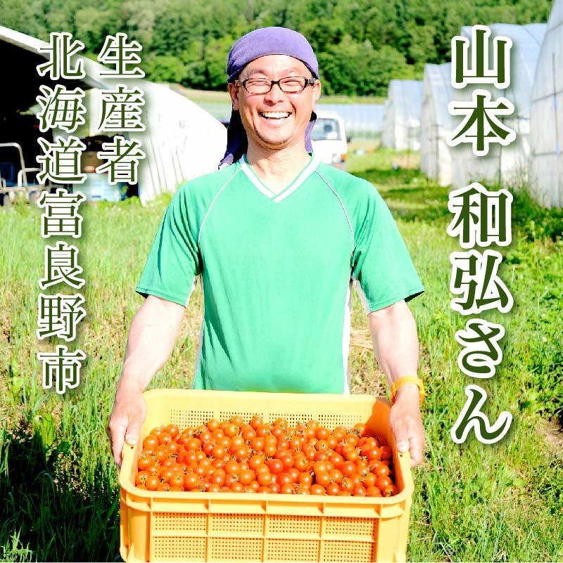 【フレッシュな香りと甘み!】自然栽培ミニトマト 150g