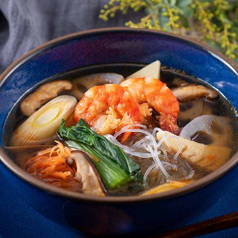 【日本料理店「きじま」特製惣菜】和風トムヤムクン 魚醤仕立て 1食入 ★予約商品