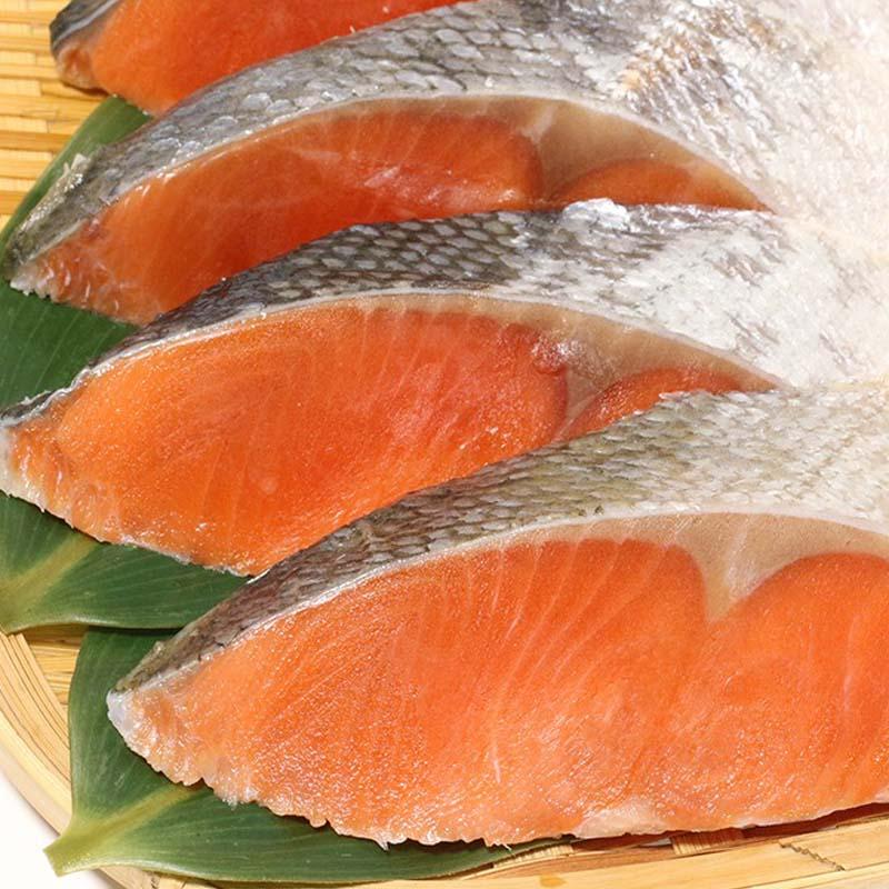 紅鮭切身 80g×2切