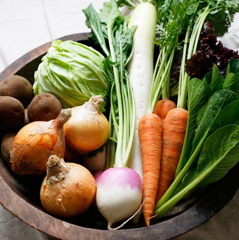 ナチュラル・ハーモニーの自然栽培野菜セット