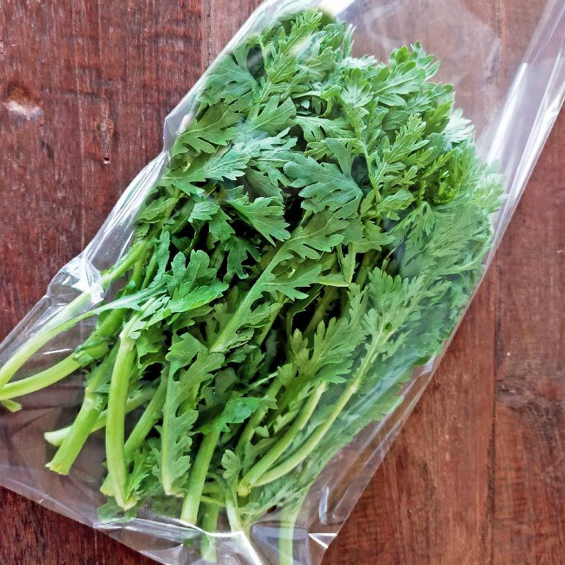 自然栽培春菊 1袋(約150g)