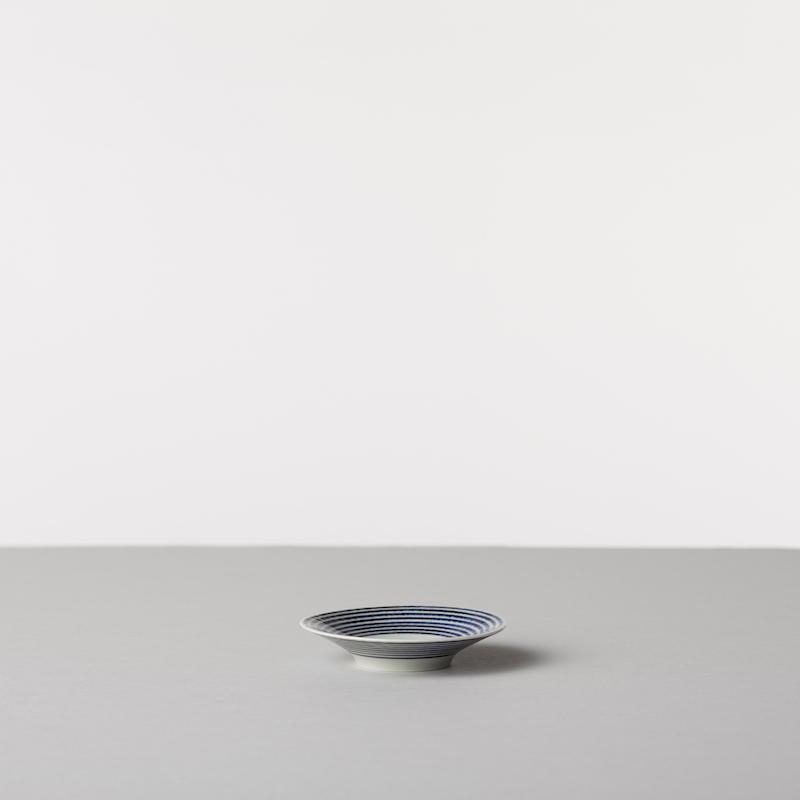 藍駒 小皿