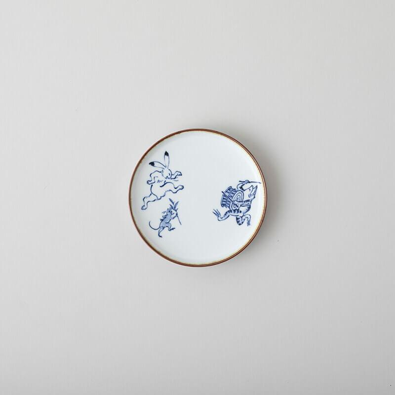 鳥獣戯画 5寸皿