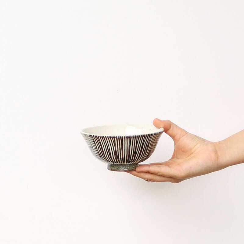 【ストア限定】 サビ十草 茶碗2個 & ギフトボックスセット