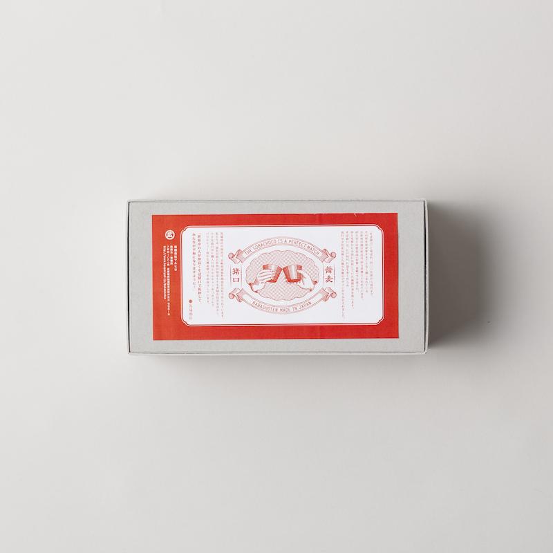 蕎麦猪口大事典 ギフトボックス そばちょこ2個入り/ボール紙
