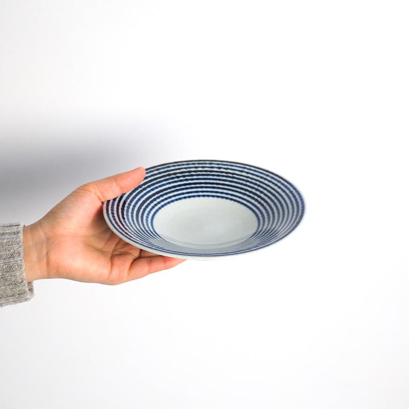 藍駒 中皿