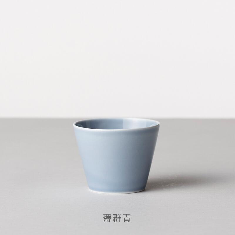 蕎麦猪口大事典 色釉/白淡 そばちょこ