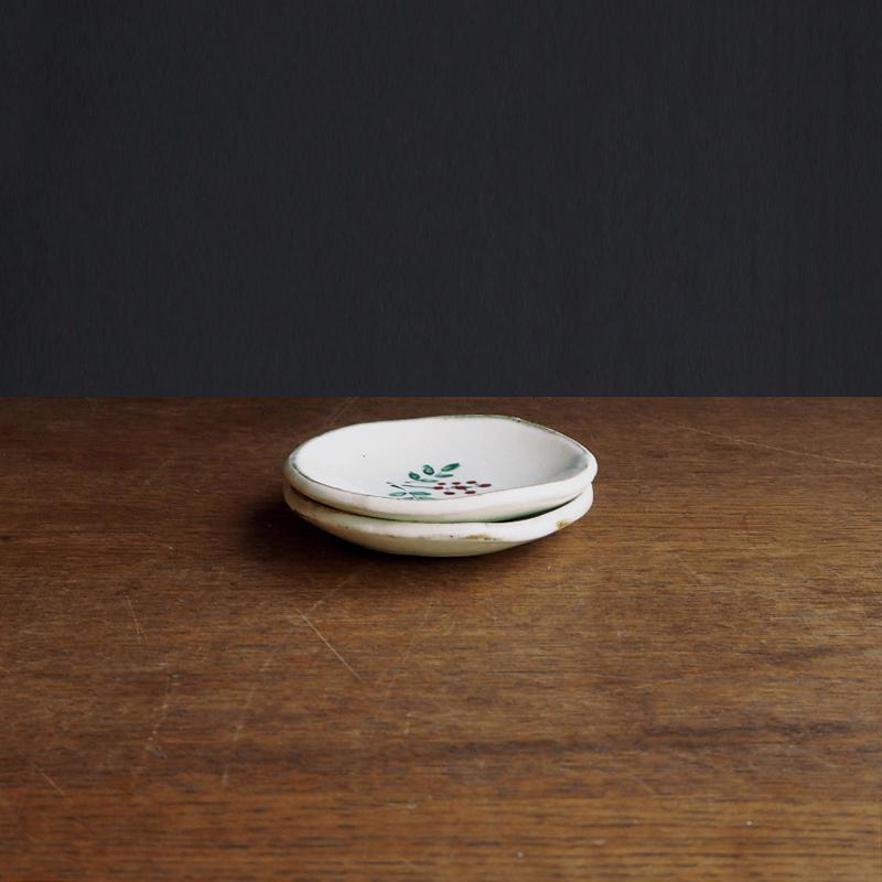 【ストア限定】 粉引き 豆皿