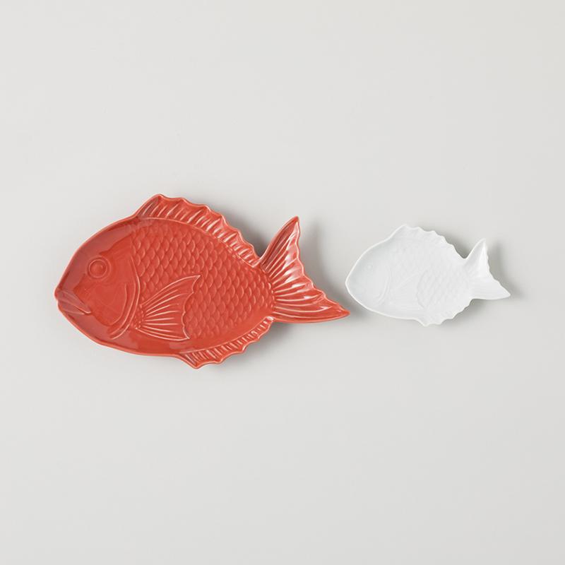 縁起物 祝い鯛 中皿