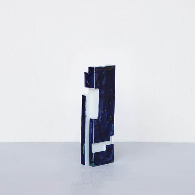 【1点もの】 ArtWork Blue & White TOY 濃呉須