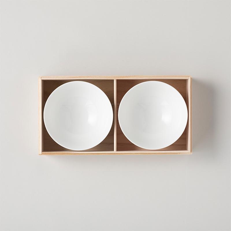 ギフトボックス 茶碗2個入/桐箱