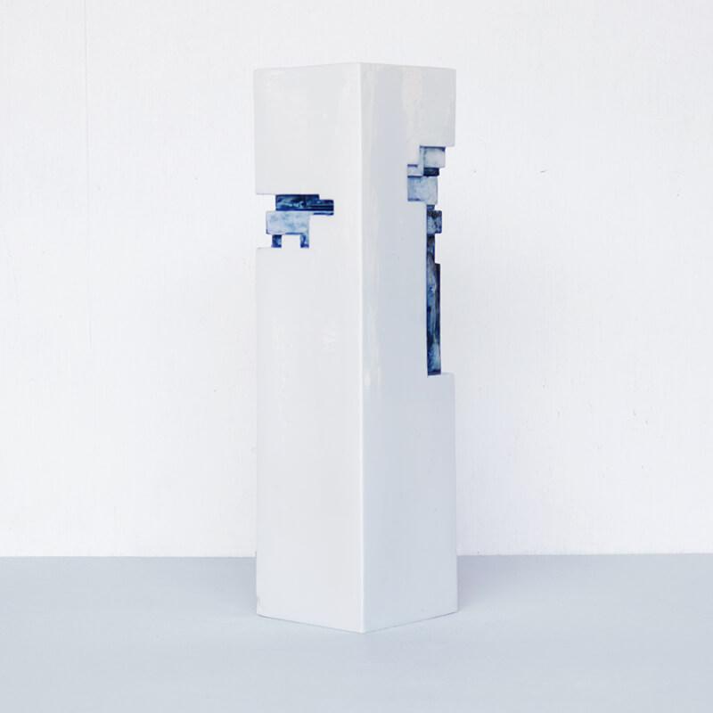 【限定生産】 ArtWork Blue & White VASE 薄呉須