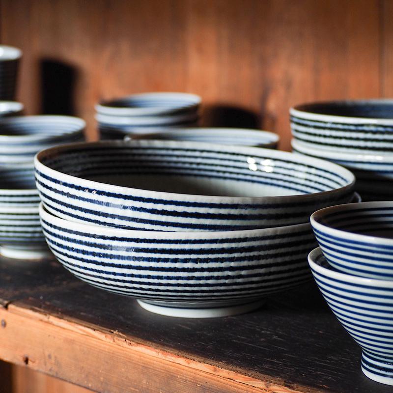 藍駒 大鉢