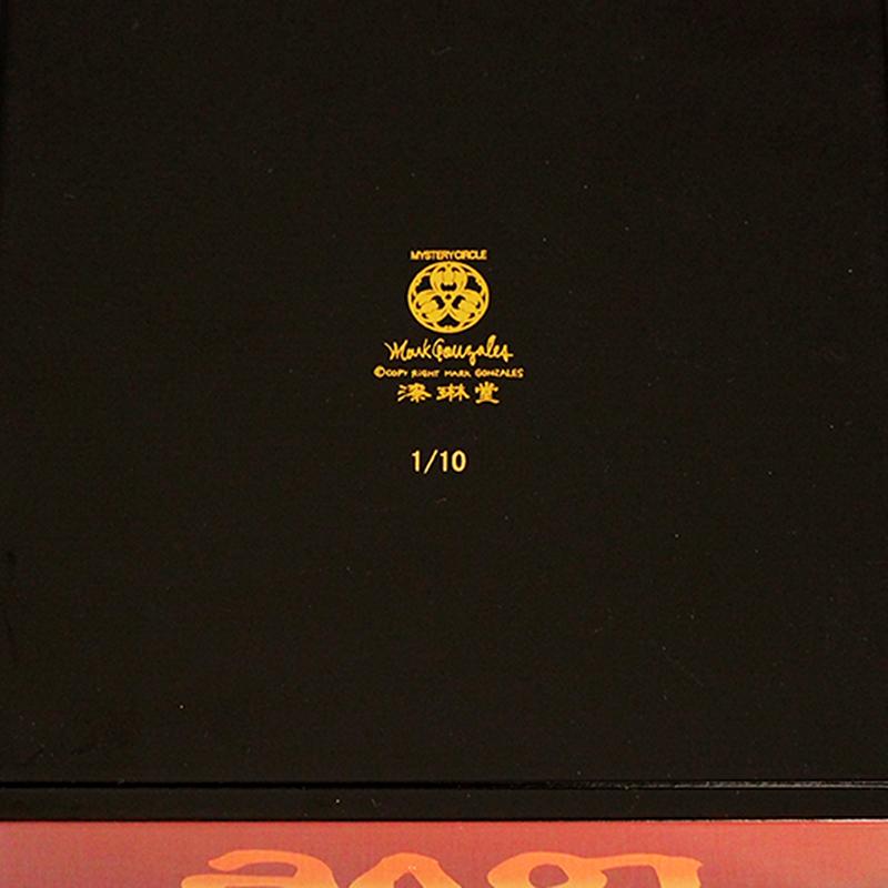 【数量限定】漆琳堂 × Mark Gonzales 6寸2段重