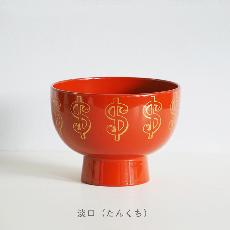 【数量限定】漆琳堂 × Mark Gonzales 合鹿椀