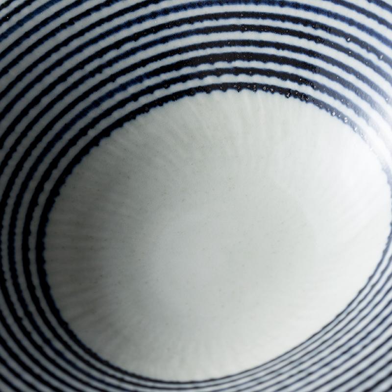 藍駒 三つ足中鉢