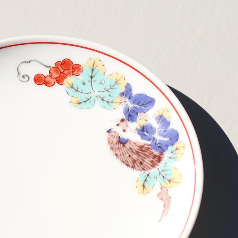 色絵 小皿