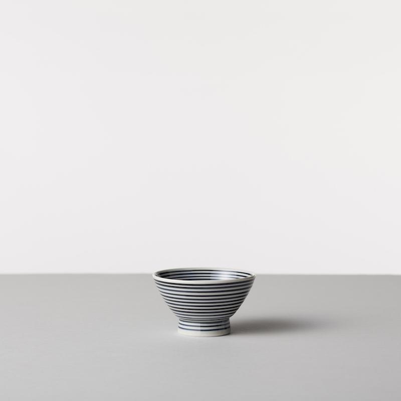 藍駒 茶碗 大・小 & 道具ふきんセット