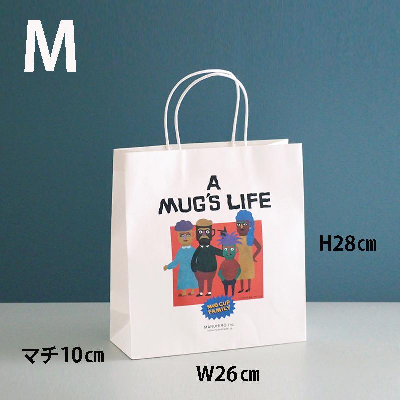 【ストア限定】 MUG'S LIFE 紙袋 M