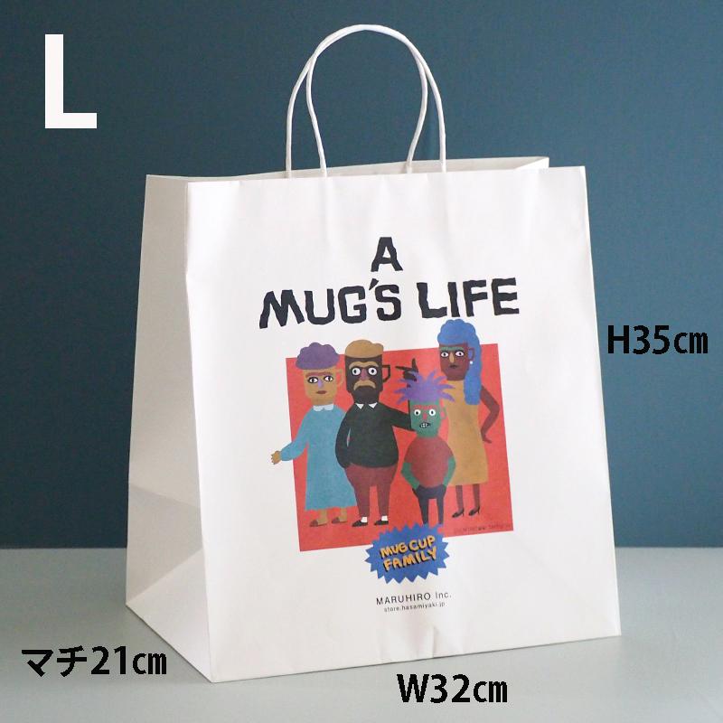 【ストア限定】 MUG'S LIFE 紙袋 L