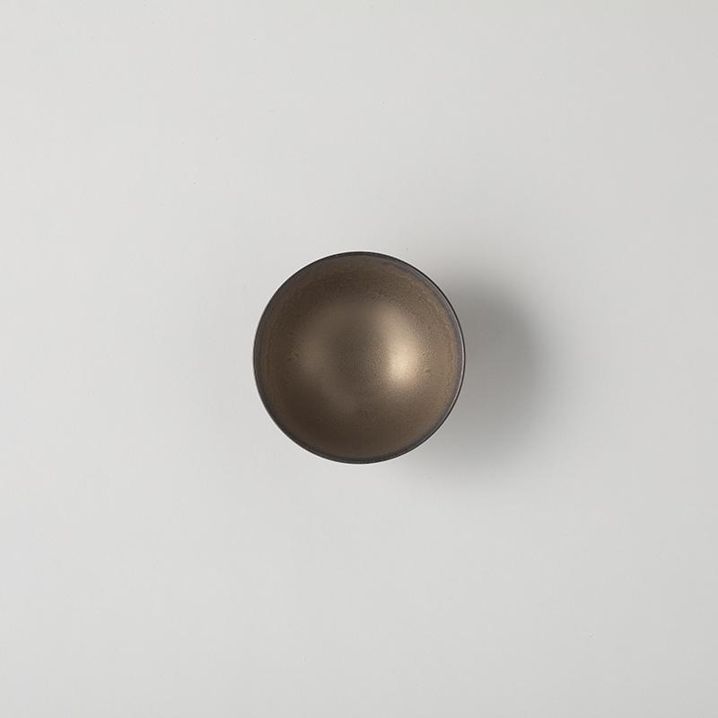 色釉/渋結晶 茶碗 大