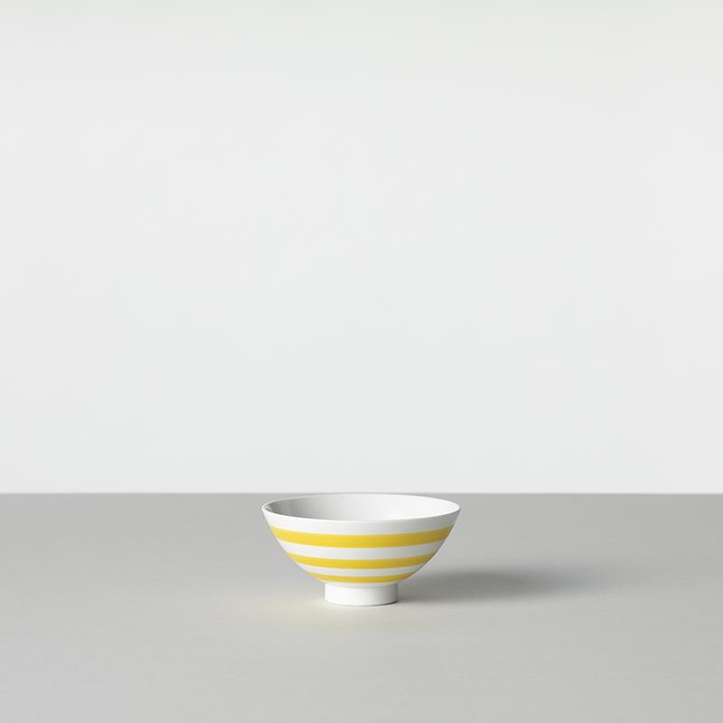 三本線 茶碗 小