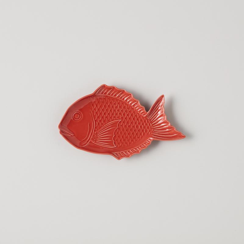 縁起物 祝い鯛中皿(1〜2枚) & ギフトボックスセット