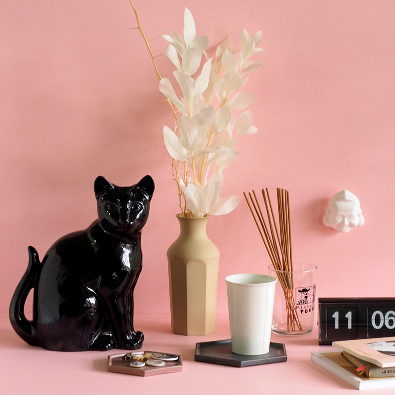 【ストア限定】猫様 花瓶