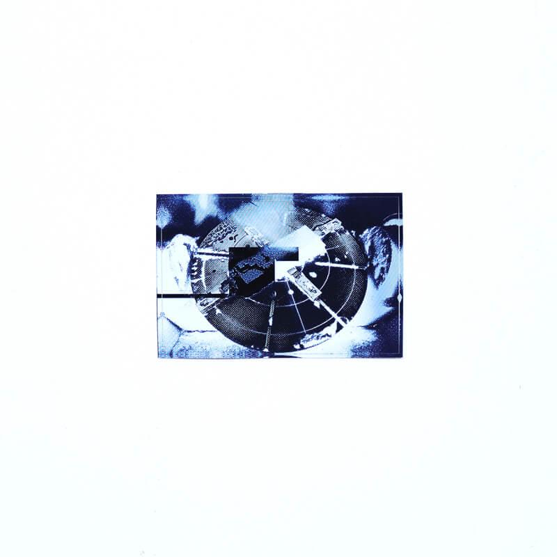 Blue & White ステッカー 7枚セット