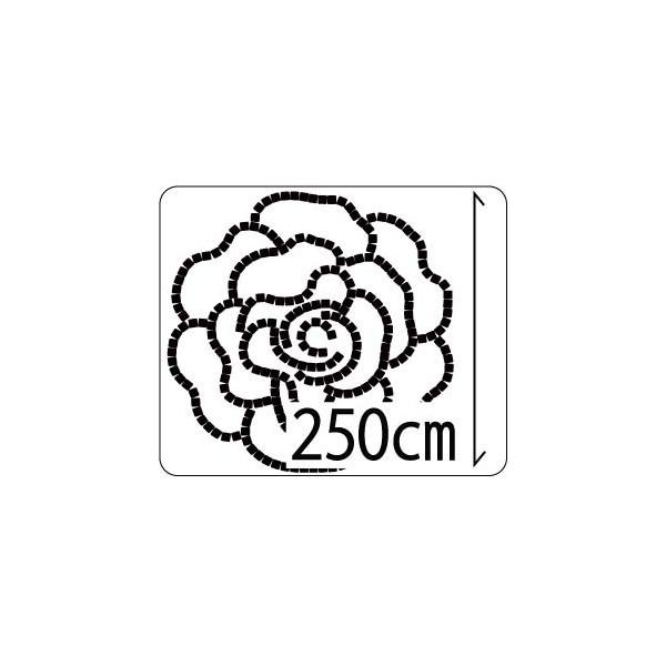 レンガ 庭 デザイン/キュアガーデン ローズテラス TRタイプ-マサファルト仕上げ・3cm高さ(イメージ画はレッド+赤土)